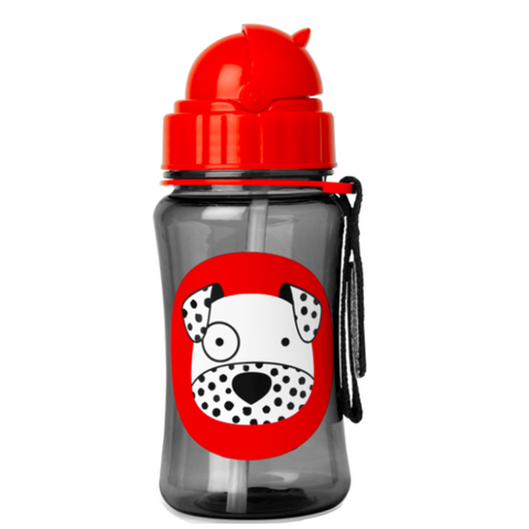 Zoo Straw Bottle Dalmatian