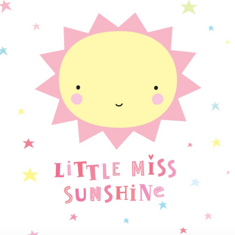 Wall Sticker Miss Sunshine