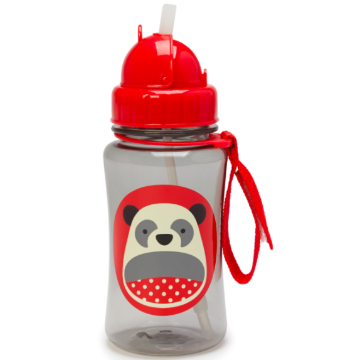 Zoo Straw Bottle Panda