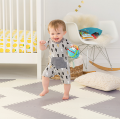 Playtime Playspot Geo Grey & Cream
