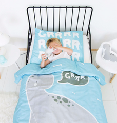 Single Bed Set Dino