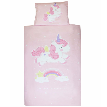 Single Bed Set Unicorn