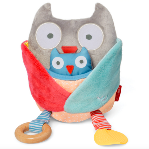 Treetop Friends Hug & Hide Activity Owl