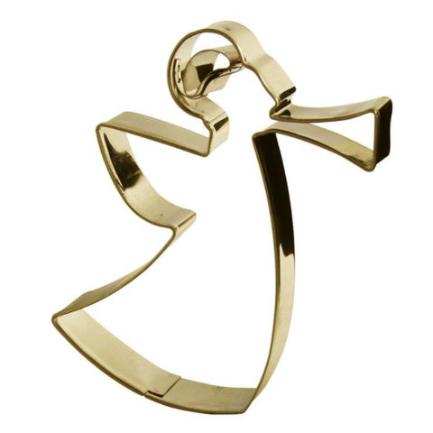 Cookie Cutter Angel Gold