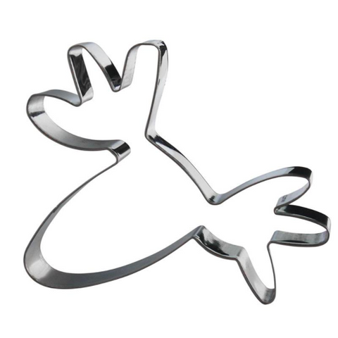 Cookie Cutter Moose Silver