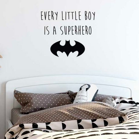 Wall Vinyl Stickers - Superhero