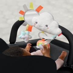 Silver Lining Cloud Stroller Bar Toy