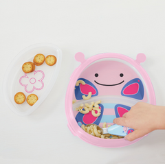 Zoo Smart Serve Plate & Bowl - Butterfly