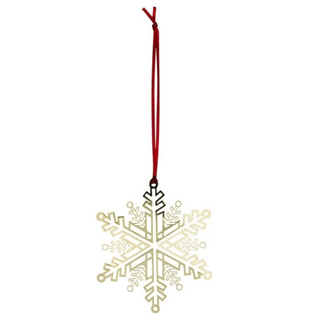 Gold Snowflake Decoration