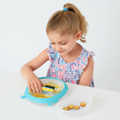 Zoo Smart Serve Plate & Bowl - Bee