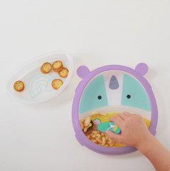 Zoo Smart Serve Plate & Bowl - Unicorn