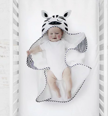 Zebra Bath Towel