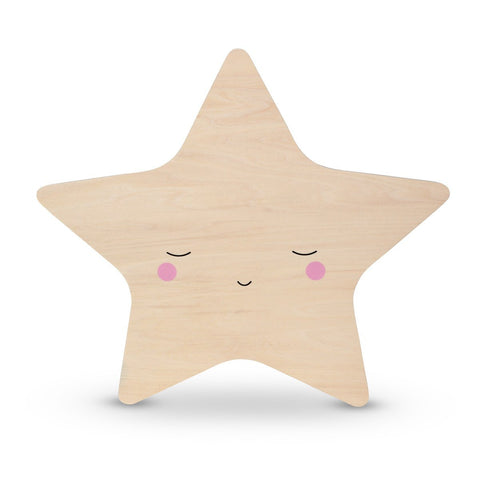 Silhouette Star Tap Night Light