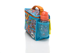 Lunch Bag & Ice Pack - Robot Blue