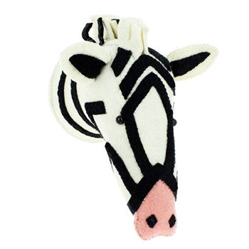 Zebra with Pink Nose