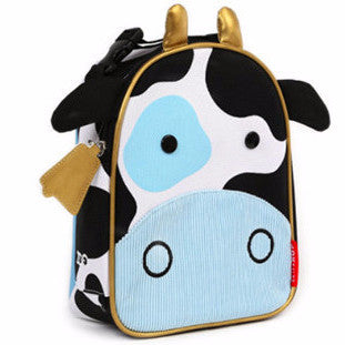 Zoo Lunchie Insulated Lunch Bag Cow