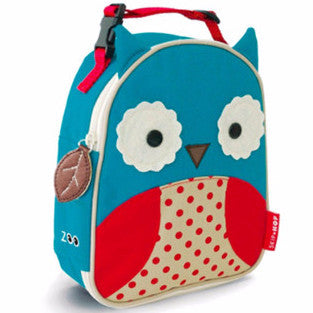 Zoo Lunchie Insulated Lunch Bag Owl