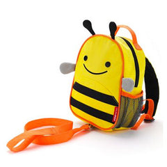 Zoo Safety Harness Mini Backpack with Rein Bee