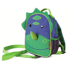Zoo Safety Harness Mini Backpack with Rein Dino