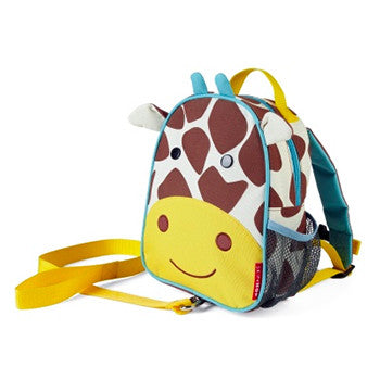 Zoo Safety Harness Mini Backpack with Rein Giraffe