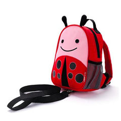Zoo Safety Harness Mini Backpack with Rein Ladybug