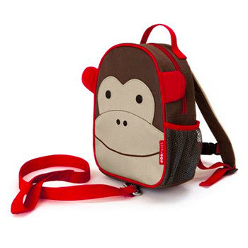 Zoo Safety Harness Mini Backpack with Rein Monkey