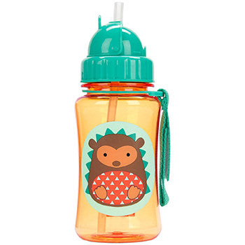 Zoo Straw Bottle Hedgehog