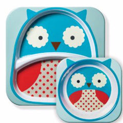 Zoo Tabletop Melamine Set Owl