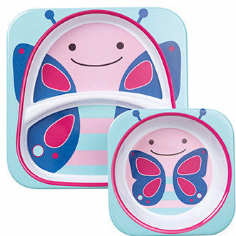 Zoo Tabletop Melamine Set Butterfly