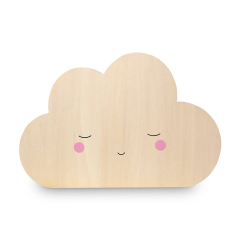 Silhouette Cloud Tap Night Light