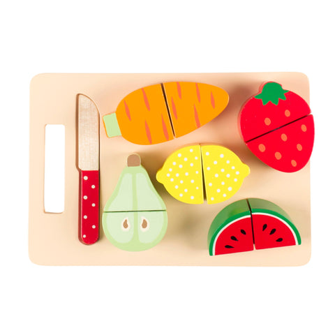 Fruit & Veg Chopping Board Play Set
