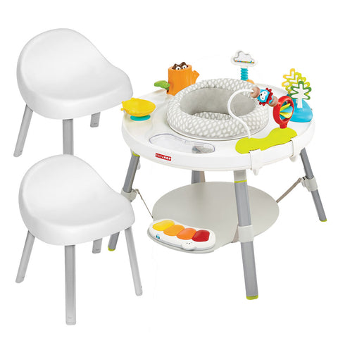 Activity Centre & Chairs Bundle