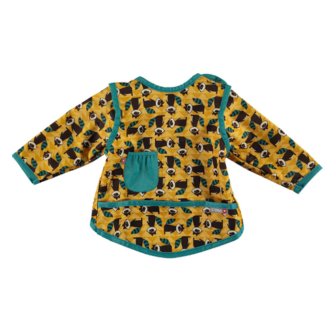Pop-in Coverall Bib Raccoon (6-18months)