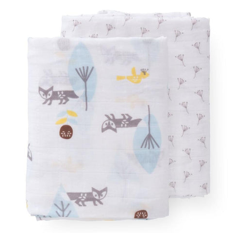Fox Muslin Set - 2 pack
