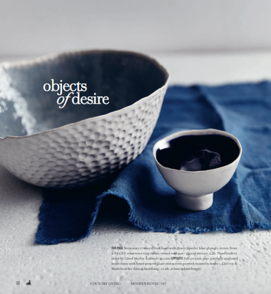 Country living magazine's Objects of desire  Feature