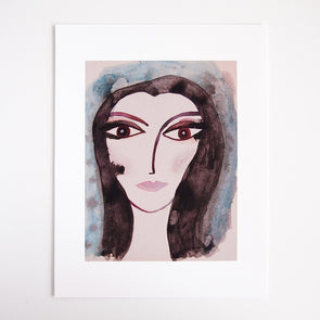 Portrait of Grace Giclee print at Kabinshop .