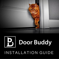 Guide: How to Install Door Buddy to Keep dog out of Litter Box