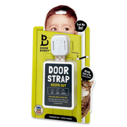 Adjustable door strap for toddlers door buddy