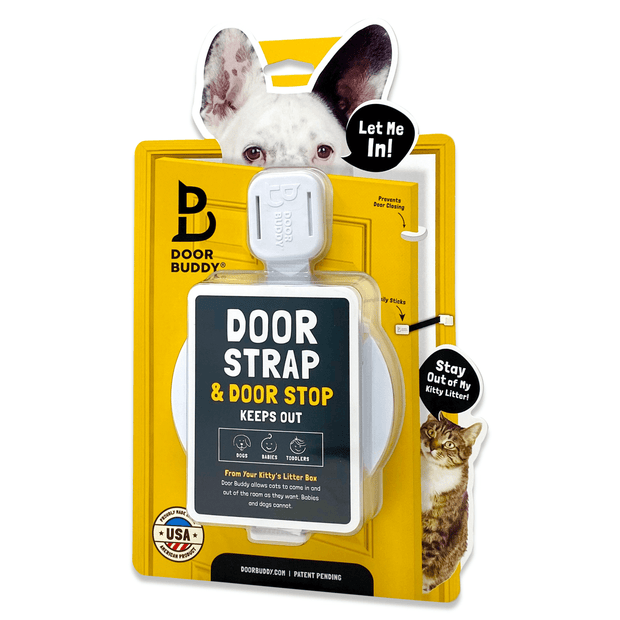 dog proof door latch for cats door buddy
