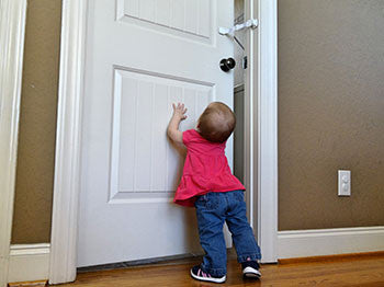 baby proof door lock to keep baby out of rooms