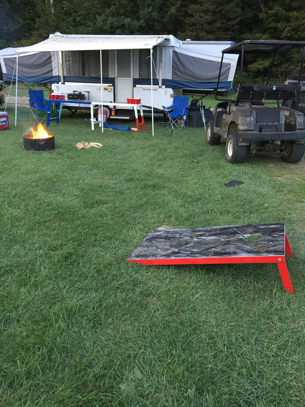 Awesome We Hope You Enjoy Your New Set Of Backyard Games. New Stuff Will Be Added  As They Are Developed To Compliment Your New Way Of Picnicking, Partying,  Camping, ...