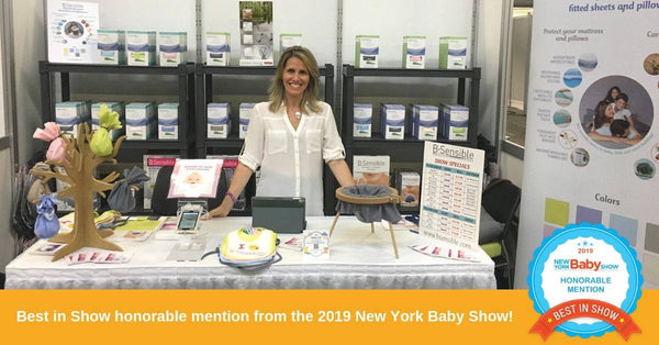 BSensible booth at the New York Baby Show 2019