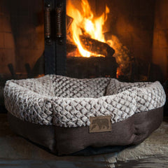 Small Round Dog Bed