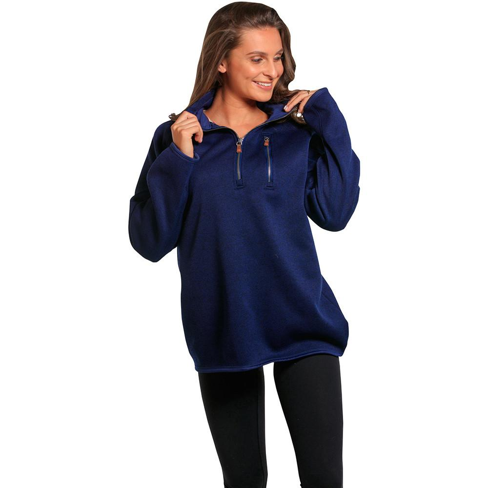 Boyfriend Lincoln Quarter Zip - Navy
