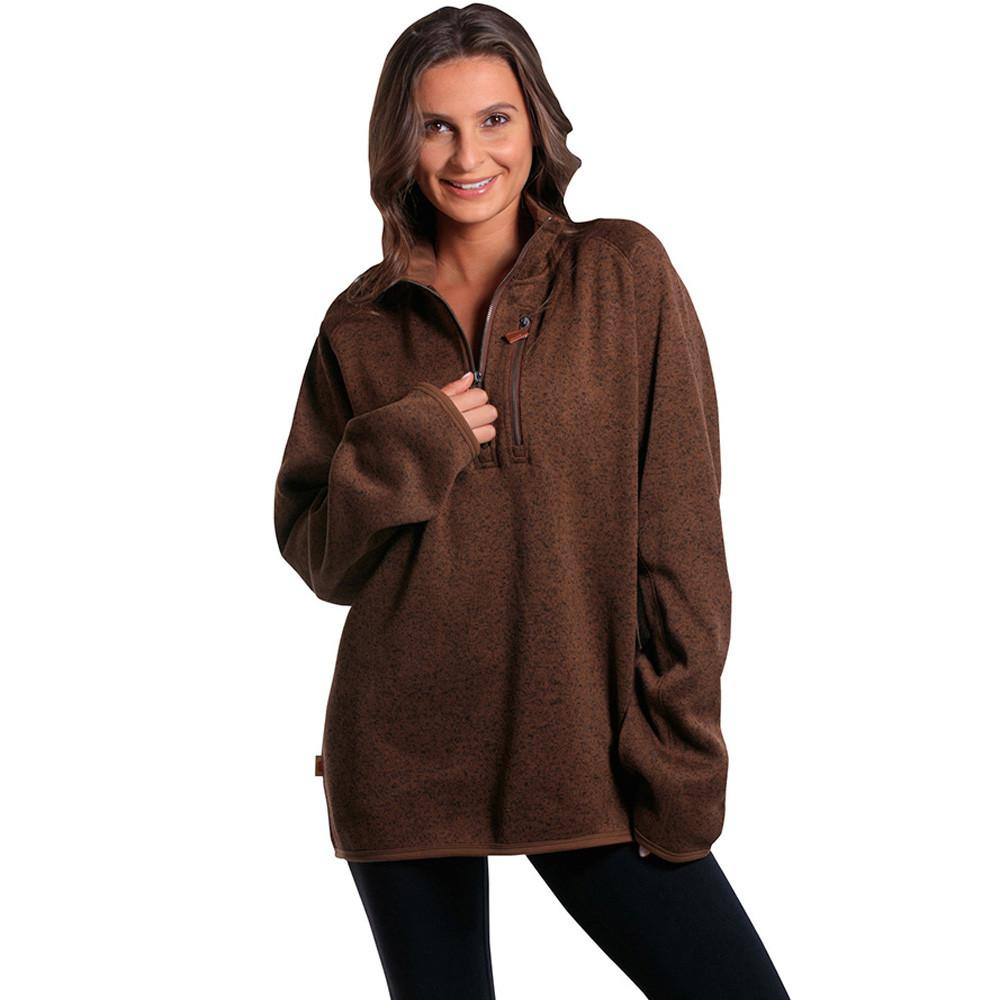 Boyfriend Lincoln Quarter Zip - Brown