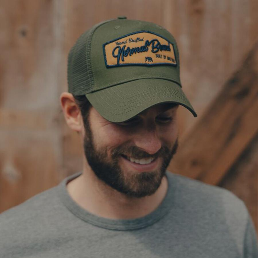 Built by Brothers Cap - Green