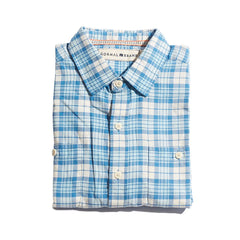 Bonita Twill Button Up Shirt - Blue