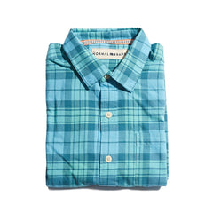 Delmar Twill Button Up Shirt - Blue