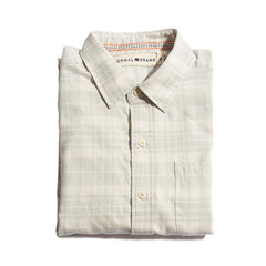 Delmar Twill Button Up Shirt - Grey