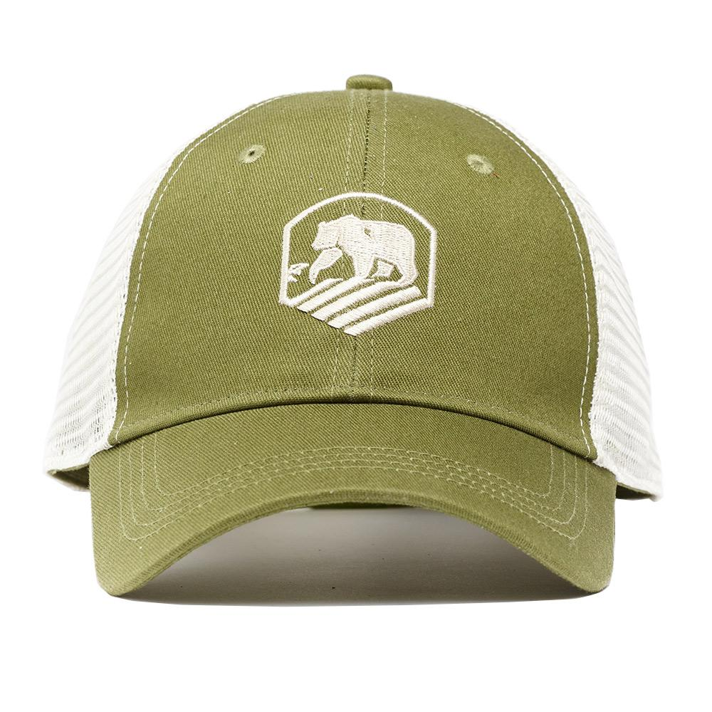 One Size Active Wear Cap - Olive